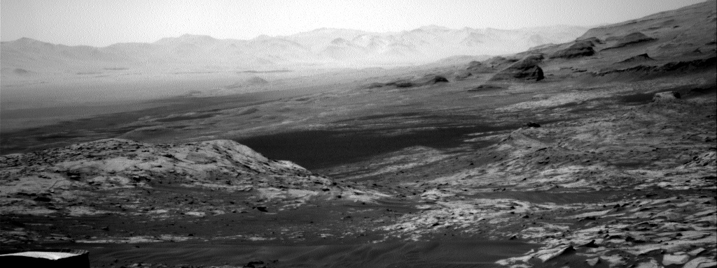 Nasa's Mars rover Curiosity acquired this image using its Right Navigation Camera on Sol 3240, at drive 390, site number 91