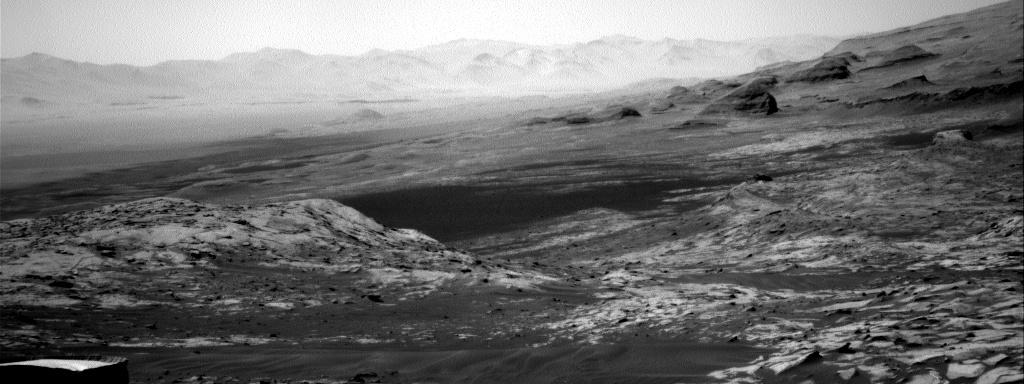 Nasa's Mars rover Curiosity acquired this image using its Right Navigation Camera on Sol 3241, at drive 390, site number 91