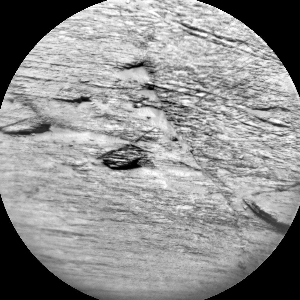 Nasa's Mars rover Curiosity acquired this image using its Chemistry & Camera (ChemCam) on Sol 3241, at drive 390, site number 91