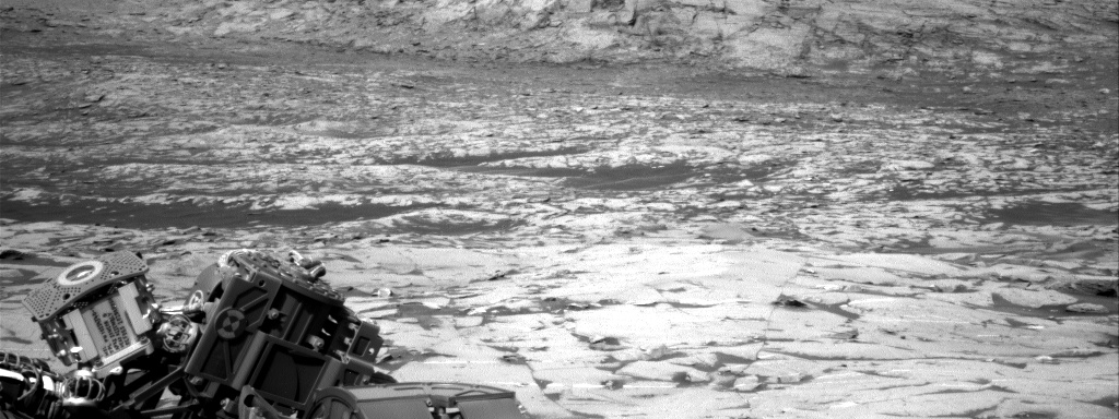 Nasa's Mars rover Curiosity acquired this image using its Right Navigation Camera on Sol 3244, at drive 390, site number 91