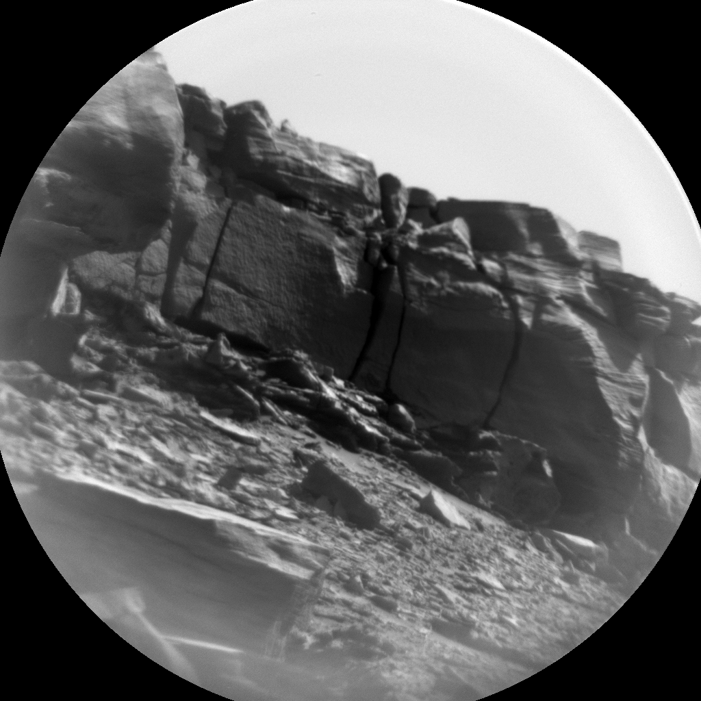 Nasa's Mars rover Curiosity acquired this image using its Chemistry & Camera (ChemCam) on Sol 3244, at drive 390, site number 91