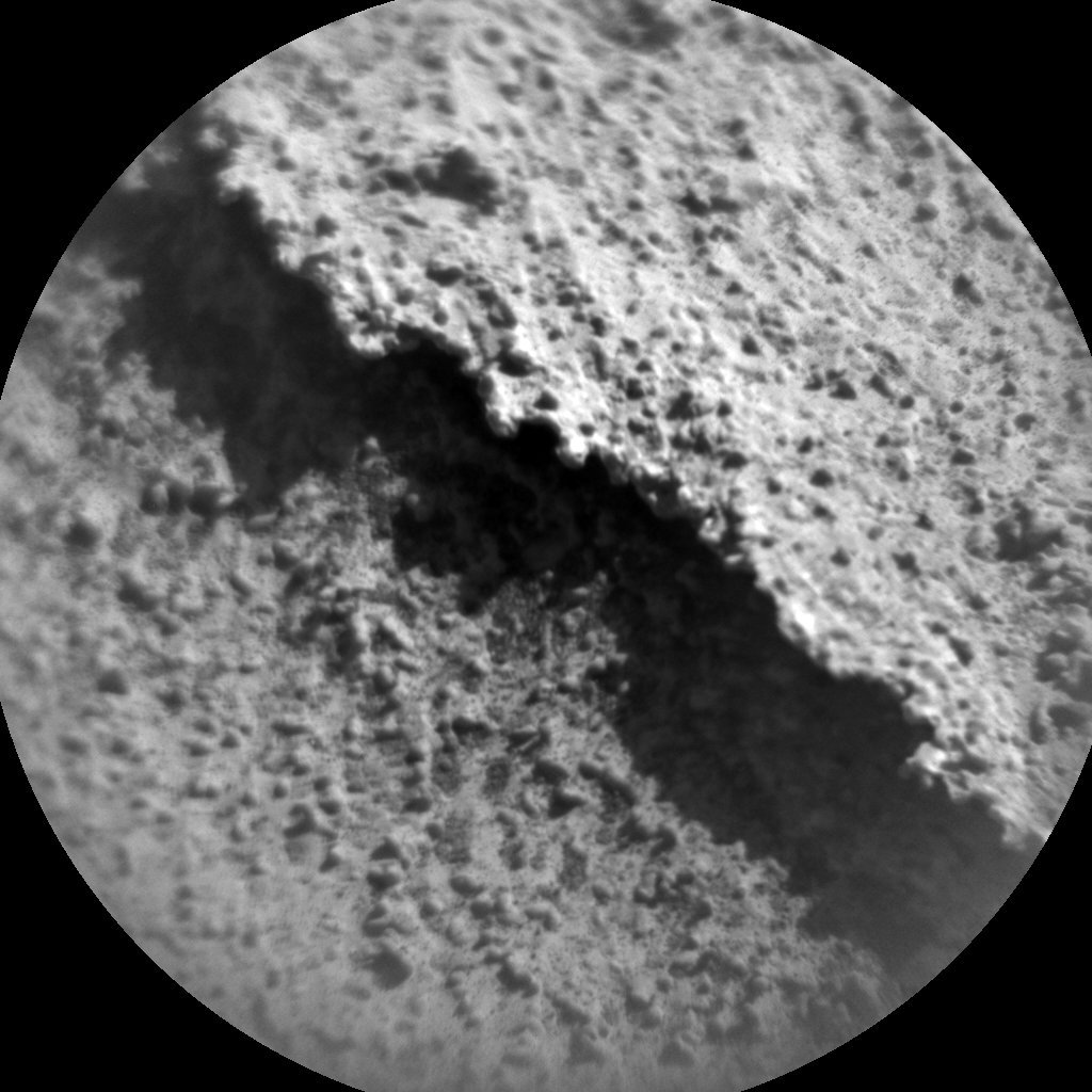 Nasa's Mars rover Curiosity acquired this image using its Chemistry & Camera (ChemCam) on Sol 3245, at drive 390, site number 91