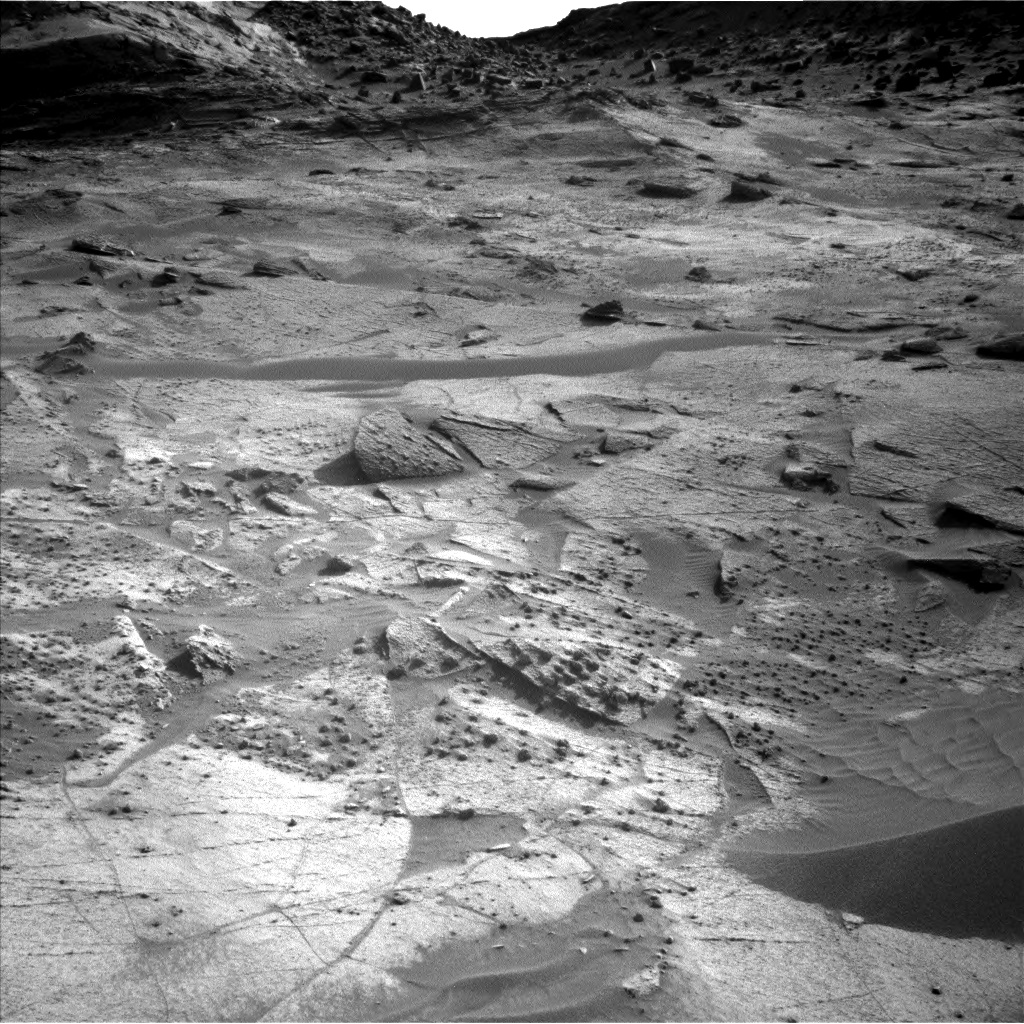 Nasa's Mars rover Curiosity acquired this image using its Left Navigation Camera on Sol 3247, at drive 432, site number 91