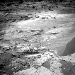 Nasa's Mars rover Curiosity acquired this image using its Left Navigation Camera on Sol 3247, at drive 450, site number 91