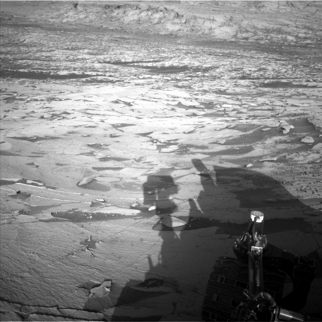 Nasa's Mars rover Curiosity acquired this image using its Left Navigation Camera on Sol 3247, at drive 516, site number 91
