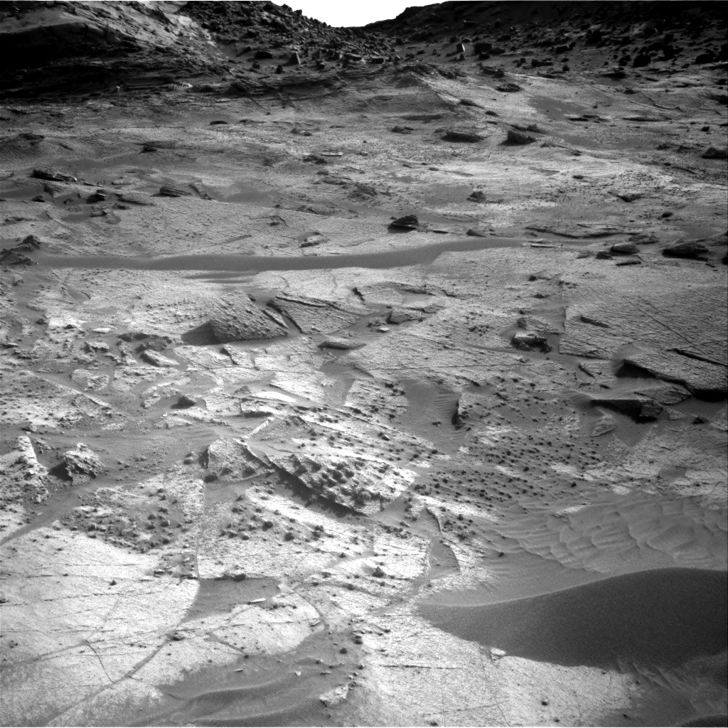 Nasa's Mars rover Curiosity acquired this image using its Right Navigation Camera on Sol 3247, at drive 432, site number 91