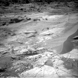Nasa's Mars rover Curiosity acquired this image using its Right Navigation Camera on Sol 3247, at drive 456, site number 91