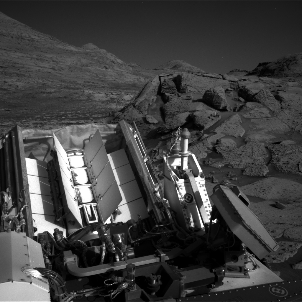 Nasa's Mars rover Curiosity acquired this image using its Right Navigation Camera on Sol 3247, at drive 516, site number 91