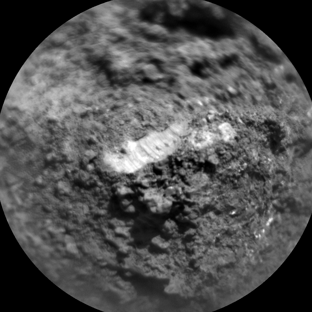 Nasa's Mars rover Curiosity acquired this image using its Chemistry & Camera (ChemCam) on Sol 3248, at drive 516, site number 91