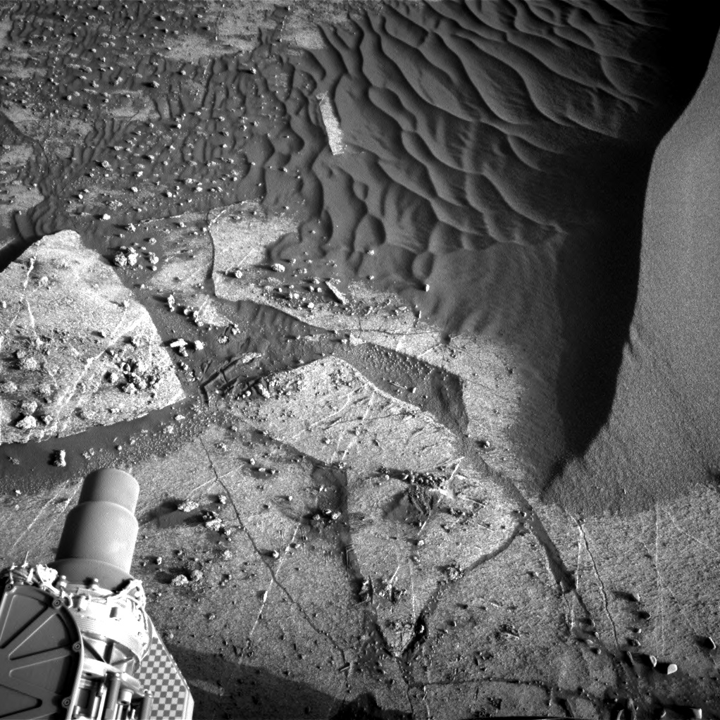Nasa's Mars rover Curiosity acquired this image using its Right Navigation Camera on Sol 3249, at drive 516, site number 91