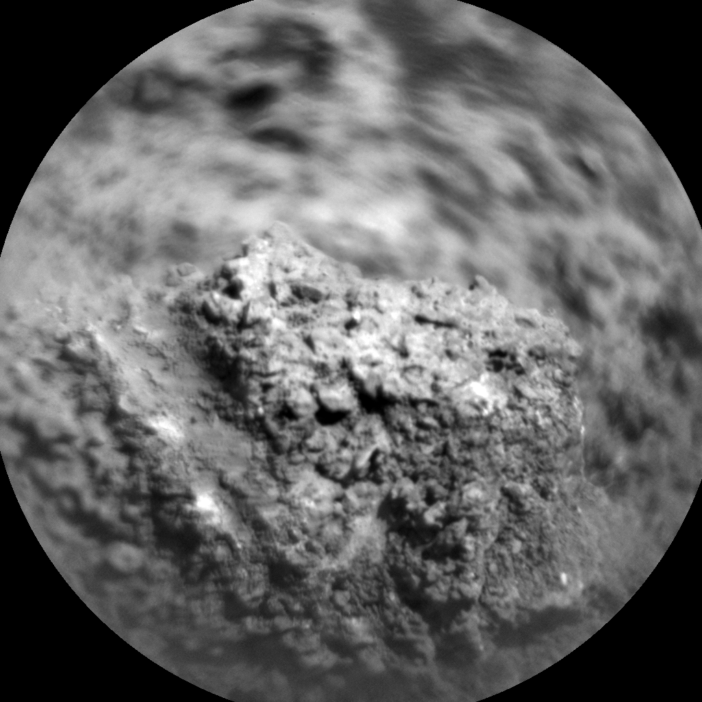 Nasa's Mars rover Curiosity acquired this image using its Chemistry & Camera (ChemCam) on Sol 3249, at drive 516, site number 91