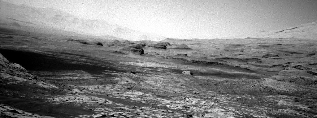 Nasa's Mars rover Curiosity acquired this image using its Right Navigation Camera on Sol 3250, at drive 516, site number 91