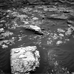 Nasa's Mars rover Curiosity acquired this image using its Left Navigation Camera on Sol 1707, at drive 1690, site number 63