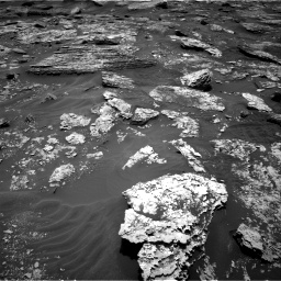Nasa's Mars rover Curiosity acquired this image using its Right Navigation Camera on Sol 1707, at drive 1696, site number 63