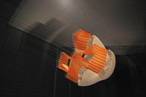 View Parachute During Tests for Mars Science Laboratory