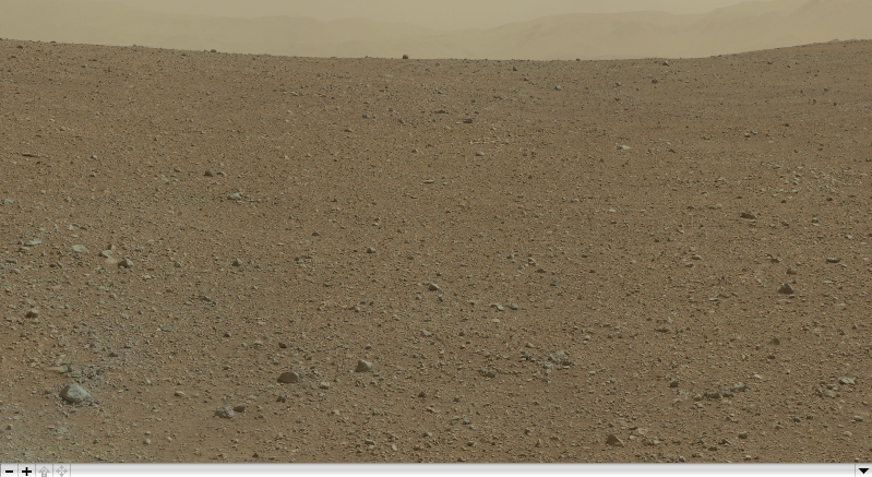 First High-Resolution Color Mosaic of Curiosity's Mastcam Images (White-balanced)