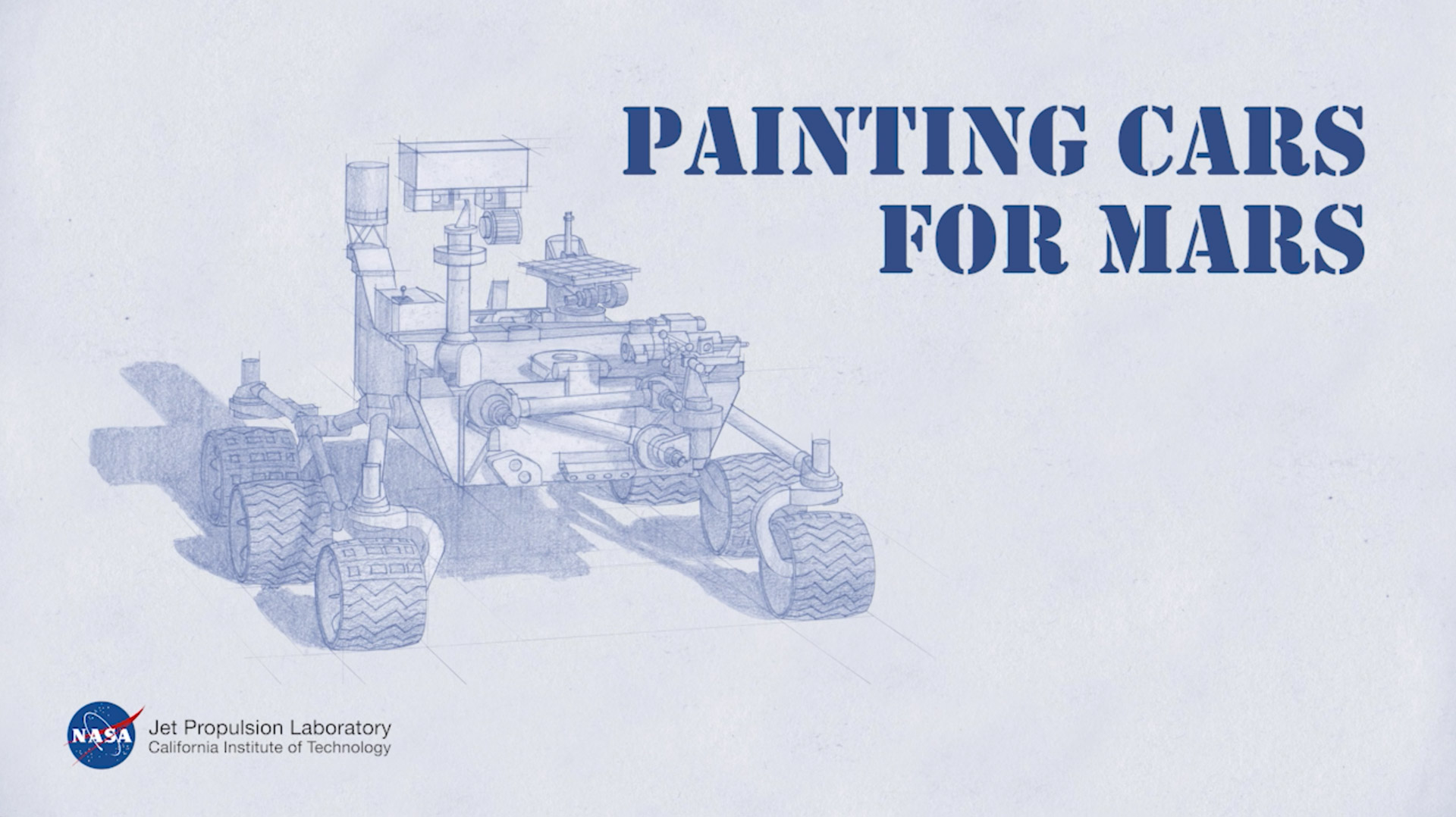 Painting Cars For Mars Mars Video Nasa Mars