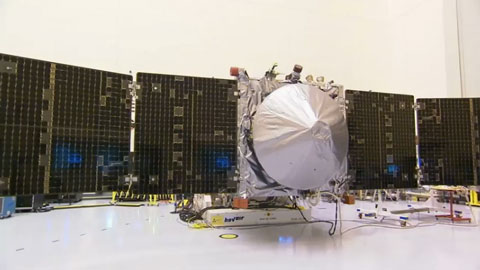 see the image 'NASA's MAVEN Prepared for Trip to Mars'