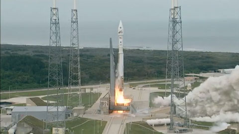 see the image 'Liftoff of MAVEN'