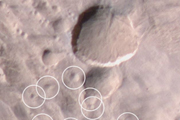 Mars Weathercam Helps Find Big, New Crater