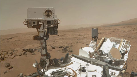 see the image 'Curiosity Roves Again'