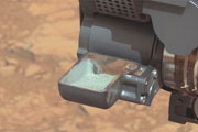 Curiosity Collects First Rock Sample on Mars