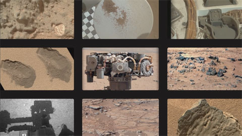 see the image 'Curiosity's Cameras'