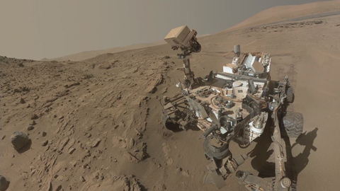 see the image 'Curiosity Completes Its First Martian Year'