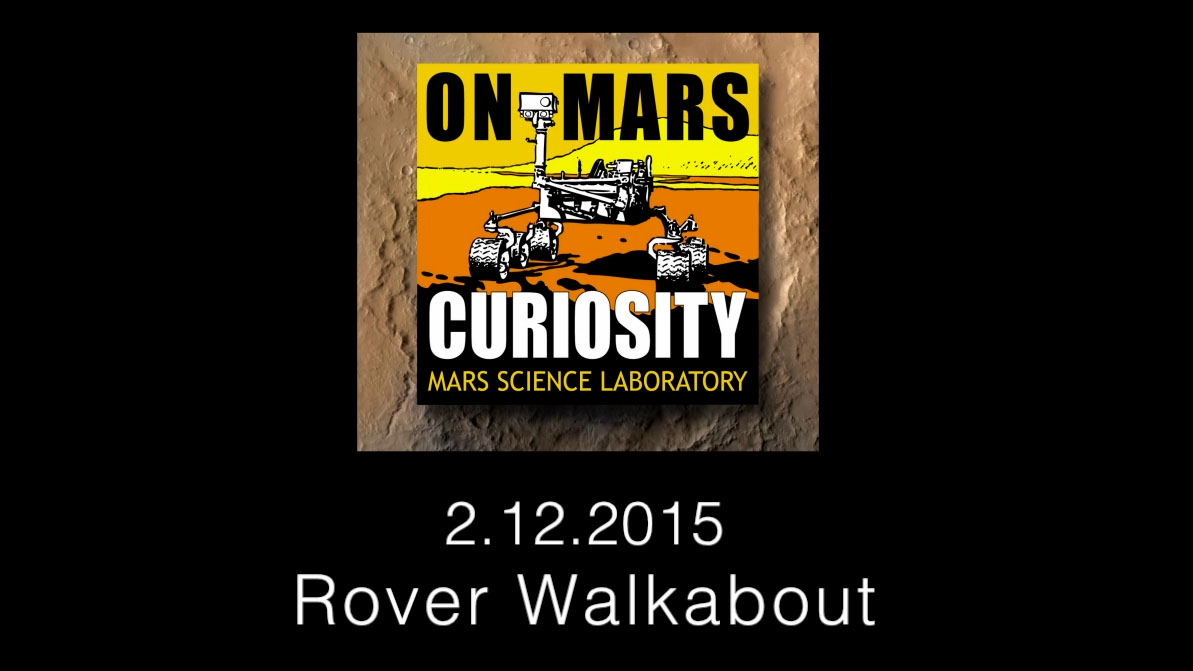 see the image 'Curiosity Rover Report: Rover Walkabout'