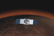 read the article 'Curiosity Welcomes MAVEN to Mars'
