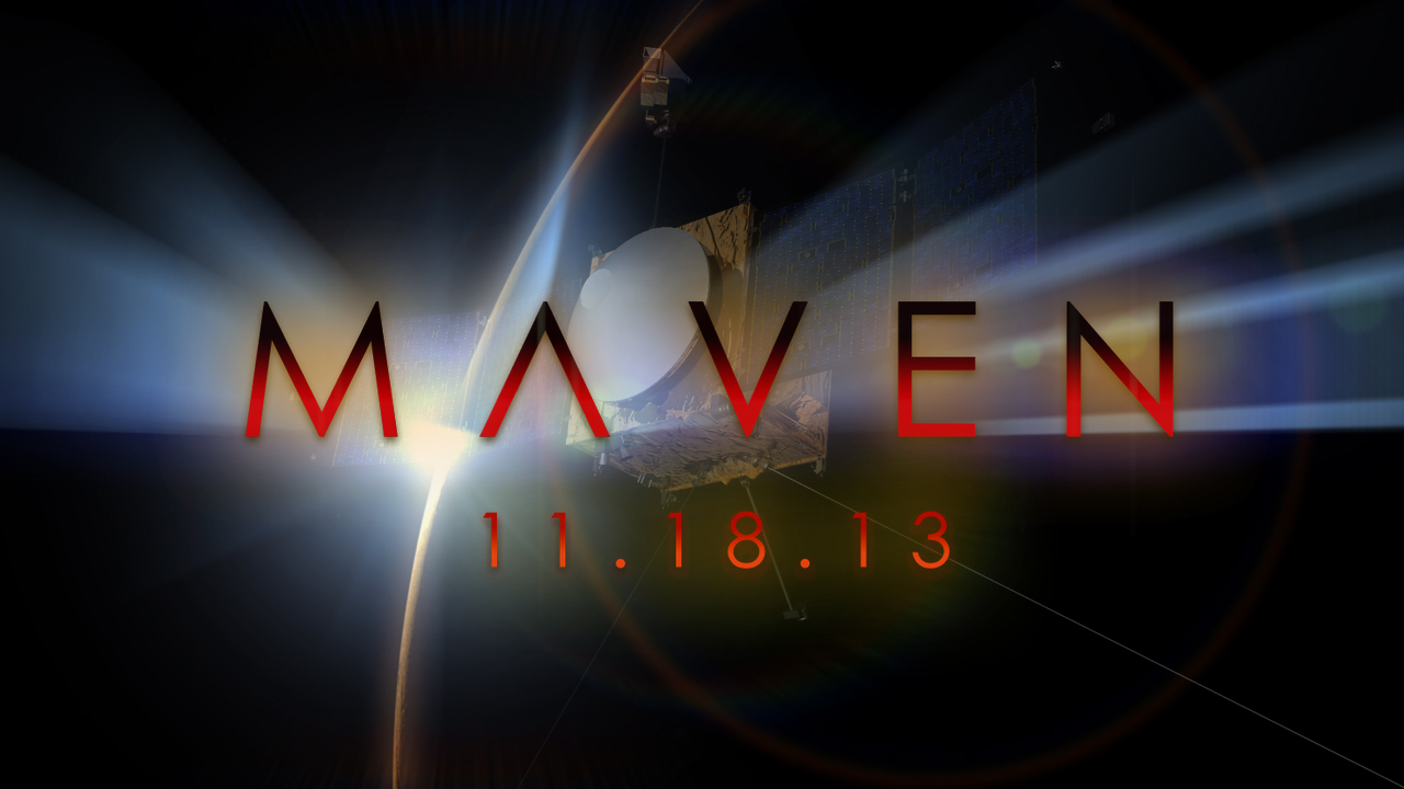 see the image 'MAVEN: NASA's Next Mission to Mars'