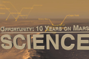 read the article 'Opportunity: 10 Years on Mars - Science'