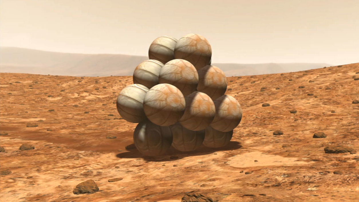 Watch video for Mars Exploration Rover Mission Animation