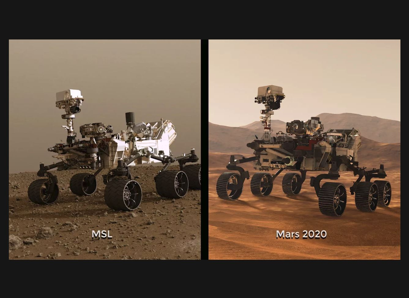 see the image 'NASA Begins Building its Next Mars Rover Mission'
