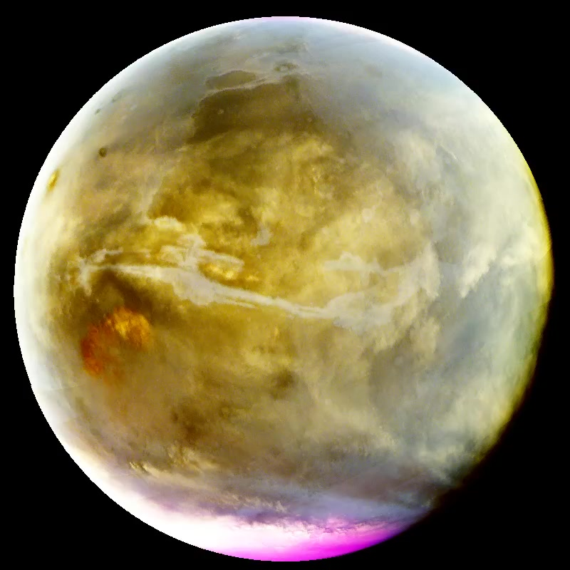 Watch Ultraviolet Mars Reveals Cloud Formation