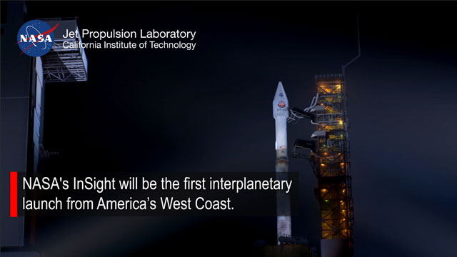 see the video 'Watching the First Interplanetary Launch from America's West Coast'