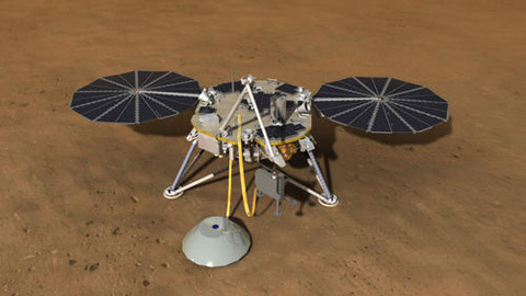 see the image 'Digging Deep with NASA's Next Mars Lander'
