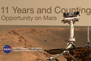 Watch 11 Years and Counting: Opportunity on Mars