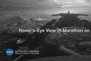 Rover's-Eye View of Marathon on Mars