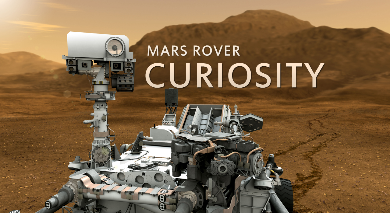 see the image 'Curiosity Rover Trailer'