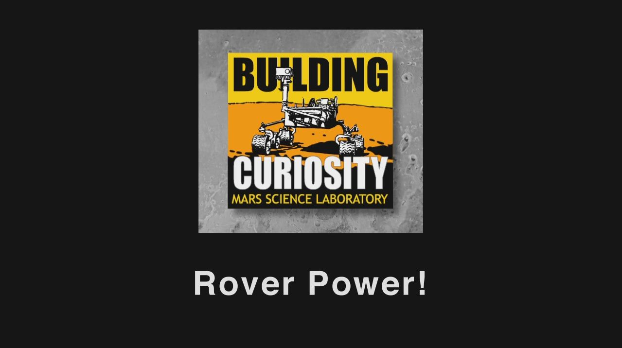 see the image 'Mars Rover Power'