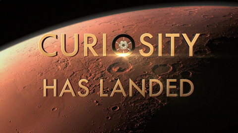 see the image 'Curiosity Has Landed'