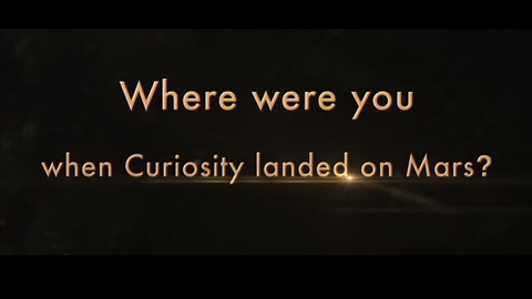 see the image 'Where were you when Curiosity landed'