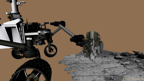 see the image 'Drilling into Mars'