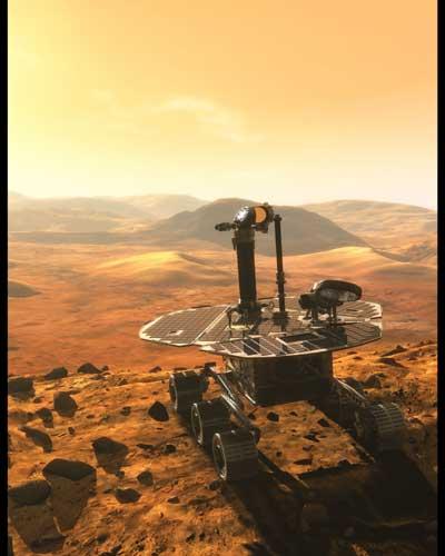 mars odyssey rover -#main