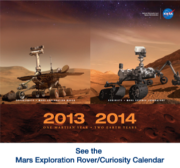 Download 2013 to 2014 Mars Calendar