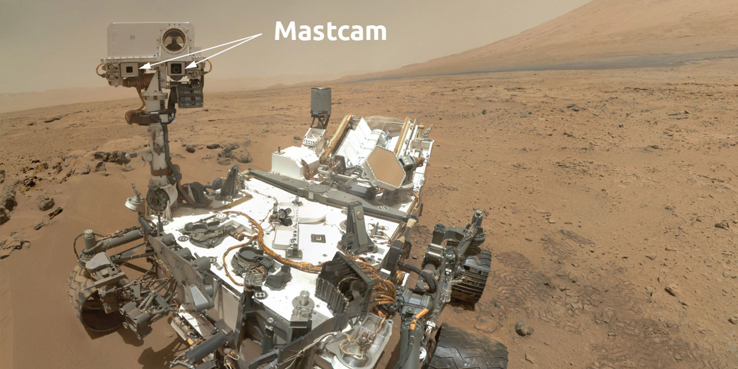 Image of Mastcam instrument