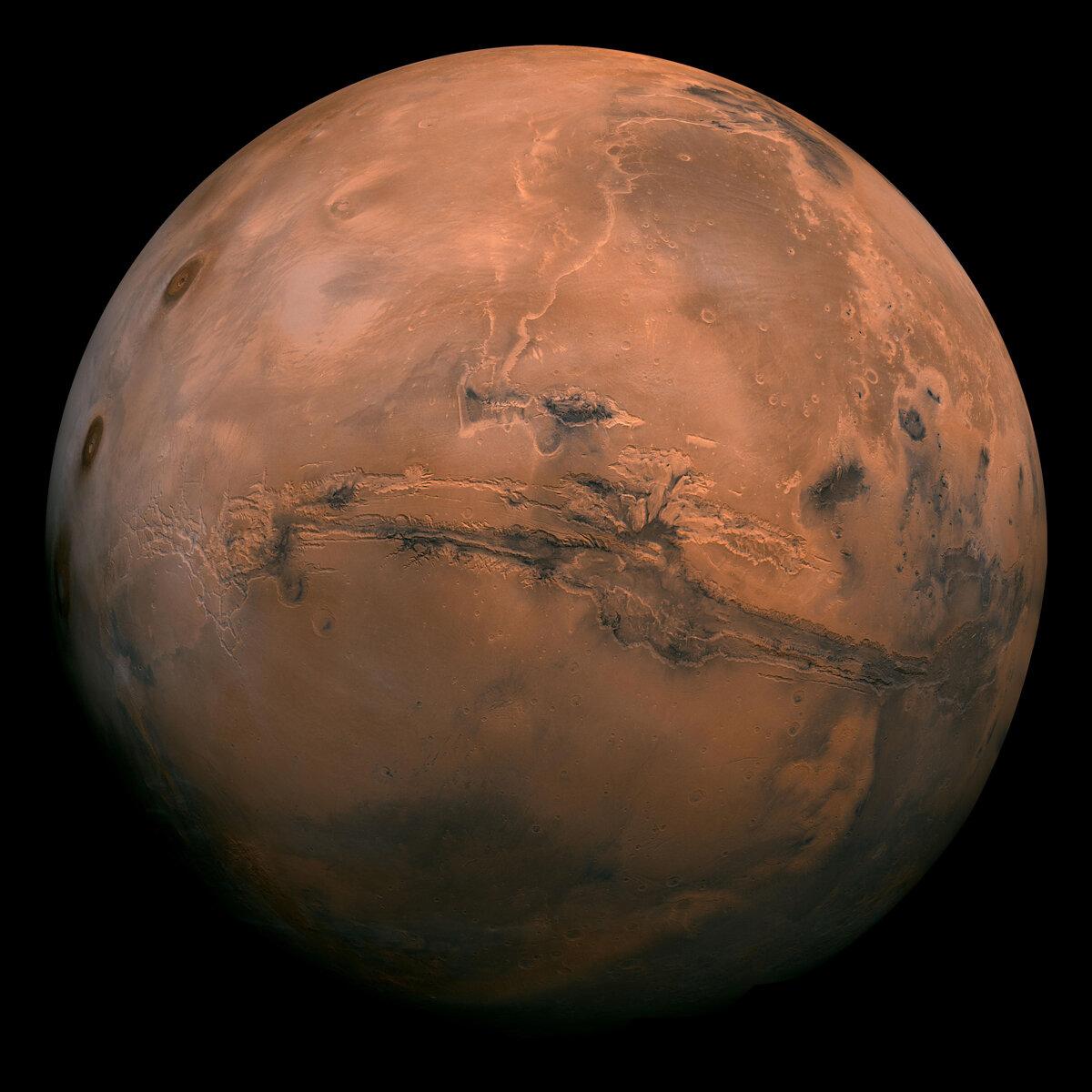 Mars (via NASA)