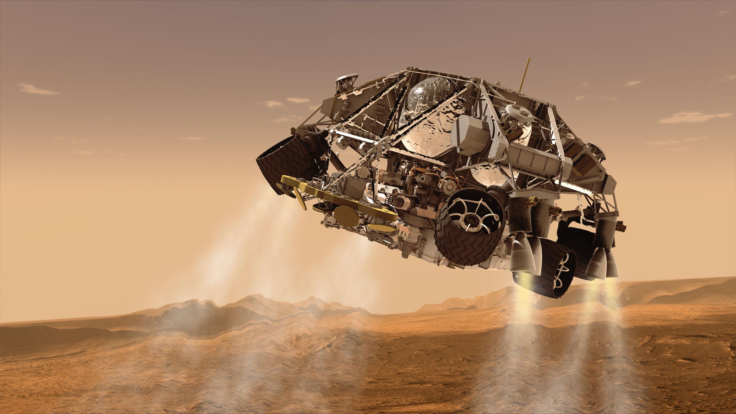 Người ngoài hành tinh và Mỹ bí mật hợp tác xây dựng căn cứ trên sao Hỏa? - 2