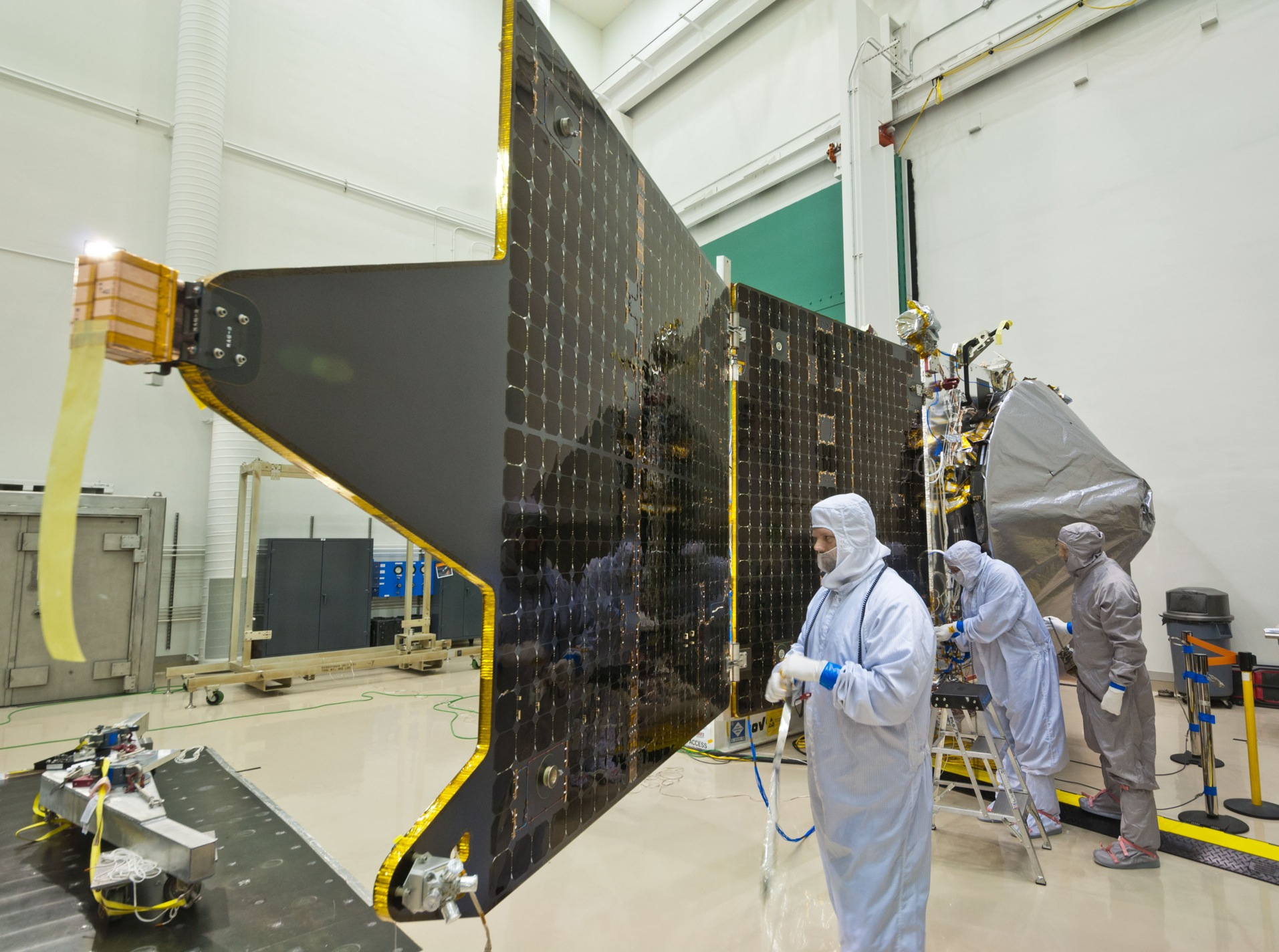 Maven Solar Panel Nasa S Mars Exploration Program